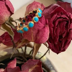 Jewelry - 14k gold and turquoise ring